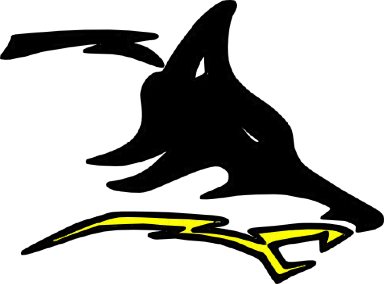 Cisco Independent School District logo, showing a wolf