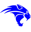 Logo of Wildcat for Locust Grove Middle School