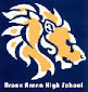 Bronx Arena High School logo, showing a lion