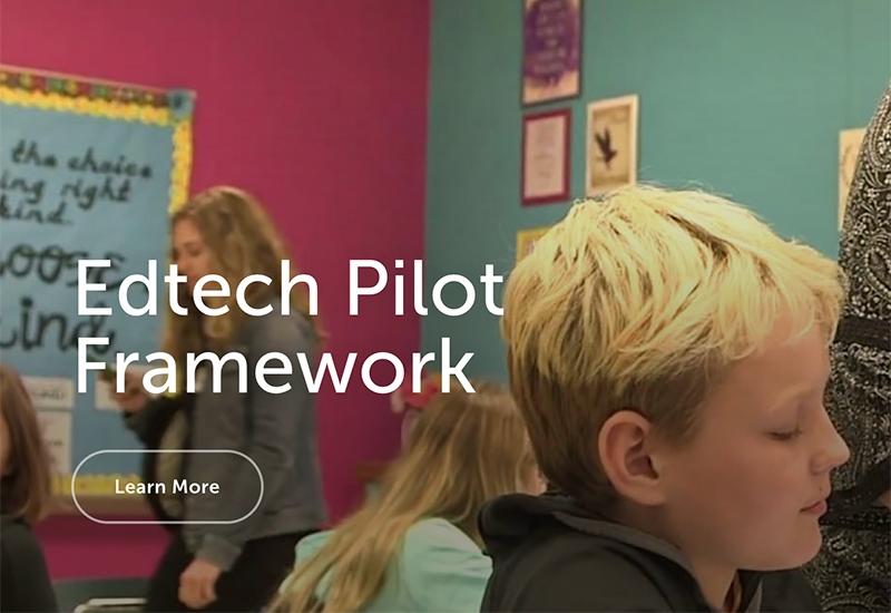 Edtech Pilot Framework
